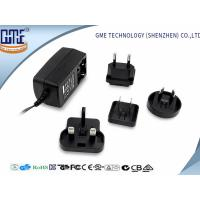 60950 60065 61558 Standard Black 9V 1A Universal AC DC Adapters Manufactures