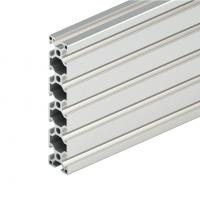 Quality Silver 6063 T5 Fences V Slot Extrusion Aluminum Light Box U Aluminium Corner for sale