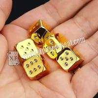 China Regular Size Casino Magic Dice / Trick Permanent Numbers Dice For Private Game on sale
