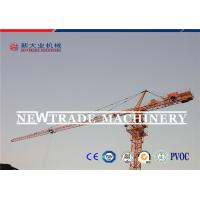 China CE Certified QTZ63 Building Crawler Tower Crane With 50m Jib Length on sale