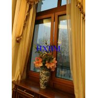 Residential Brown Aluminium Double Glazed Windows Water Resistant High Strength Manufactures