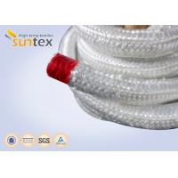 Quality High Temperature Fiberglass Heat Resistant Rope For Insulation Packing Industrial Stoves Door for sale