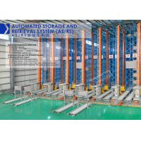 High Density Automated Storage And Retrieval System Unit Goods Type With Stacker Crane Manufactures