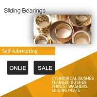 Composite Polymer Plain Bearings / Tribology Technology Material Strips Manufactures