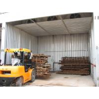 Sturdy Log Drying Kiln Aluminum Alloy Bearing Structure Corrosion Protection Manufactures