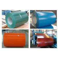 Durable Coated Aluminum Coil , Aluminum Sheet Roll Coating Thickness 0.018mm Manufactures