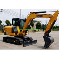 China XCMG XE60D 6 Tons Mini Crawler Excavator Machine With Hydraulic System on sale