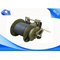 1 ~ 12 Cores Fiber Optic Cable Reel For Trailers 2KM To 4KM Per Reel Package Manufactures