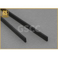 China Custom Made Tungsten Carbide Wear Plates / Non Standard Stb Carbide Blanks on sale