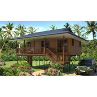 new design Moistureproof Wooden House Bungalow / SAA Home Beach Bungalows Manufactures