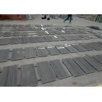 China Wood Blue Marble Kitchen Floor Tiles , Interior Real Stone Floor Tiles on sale