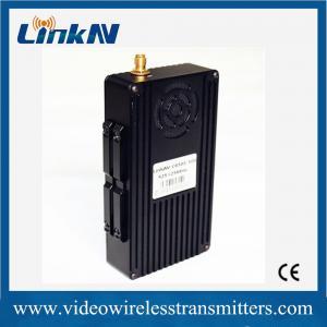 Mobile UAV Video Wireless Transmitter QPSK Modulation DC 12V RoHS