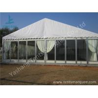 Transparent Glass Wall Outdoor Luxury Wedding Tents With Full Beautiful Decorations Manufactures