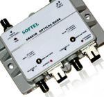 SC/APC DC 12V 1A CATV Optical Node 54Mhz ~ 1000Mhz With GaAs Amplifier Manufactures