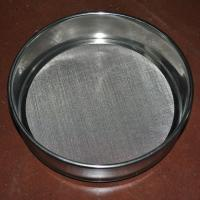Buy cheap Laboratory Wire Mesh Sieve , 10 30 50 60 80 Micron Stainless Steel Fine Mesh from wholesalers