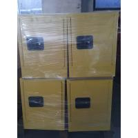 Quality Steel Yellow Industrial Safety Cabinets For Laboratory Flammable / Dangerous for sale
