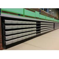 Sport Hall Retractable Grandstands , Polymer Bench Retractable Auditorium Seating