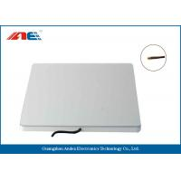 Silver Color Flat RFID Reader Antenna High Read Rate 300 * 300 * 23MM Size Manufactures