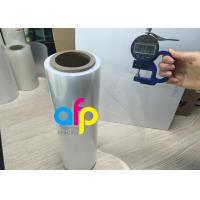 Half Sleeve Polyolefin Shrink Wrap Roll , Single Would Pof Plastic Film Manufactures