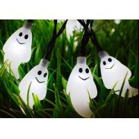Multi Color Solar LED Garden Lights ,  Ghost Outdoor Holiday String Lights  Manufactures