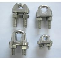 China Stainless Steel US, DIN741 and JIS Type Wire Rope Clips on sale