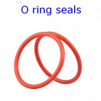 ACM 70 Rubber O Ring Seals For Connector , Colored Orings Wear Resistant Manufactures