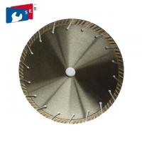Segmented Turbo Saw Blade , Granite Cutting Tools Polishing Or Painted Finishing Manufactures