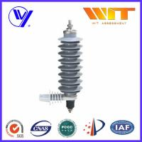 Power Station Zinc Oxide Surge Arrester Lightning Rated Voltage 24KV Manufactures