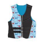 Neoprene Kids Float Vest / Commercial Swimming Float Jacket OEM Service Manufactures