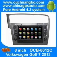 Ouchuangbo Android 4.2 DVD Radio GPS Navi for Volkswagen Golf 7 2013 3G Wifi Audio SD WIFI Manufactures