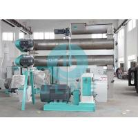 China Floating Fish Feed Pellet Making Machine / Fish Food Pellet Maker Easy Operation on sale