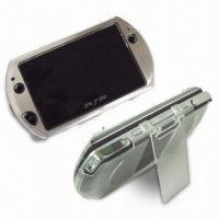 Crystal Case with Aluminum Surface, Ideal for Sony PSP Go Manufactures
