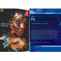 China Geniune Microsoft Adobe Photoshop CS6 Software For Beginning / Artwork Design on sale