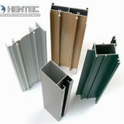 China Extruded aluminium sliding door profiles Chemical and Mechanical Polishing on sale