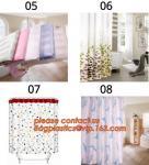 bath mats sets shower curtains, POLYESTER BATHROOM CURTAIN, HOTEL SHOWER CURTAIN