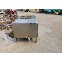China Industrial Fruit Washing Machine 2500 * 1000 * 1150 Size  Fully Dissipated on sale