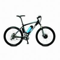 Quality 26-inch Electric Sports Bike with 250W 8Fun Motor, 36V/9Ah Li-ion, 25kph Max Speed, 60km per Charge for sale