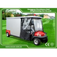 Environmental Electric Ambulance Car Red Golf Cart Ambulance For Hospital Manufactures