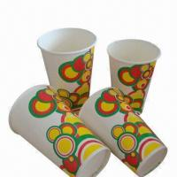 Factory Price Flexo Print 12oz Paper Cup for Advertisement, 280gsm, Safe, FDA-certified, Disposable Manufactures