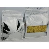 China Kraft Paper Resealable Clear Plastic Zip Bag Transparent Stand Up Custom Printing on sale