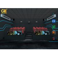 China Professional 7D Cinema Theater Simulator 6 DOF Movement For 6 - 9 Players on sale