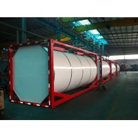 Carbon steel Q345 20ft Large Liquid Tank Container ISO For Chemical Manufactures
