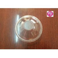 6oz 3.3g BOPS Material Disposable Plastic Lids  Dome Shape SGS Certificated Manufactures