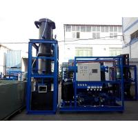 High Production 15 Ton Tube Ice Machine Refrigeration Equipment For Hotel Manufactures
