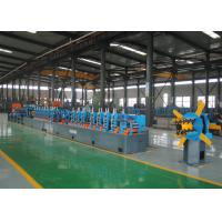 China Steel ERW Welding Pipe Mill and Straight Seam Welded Pipe Production Line Tube Making Line on sale