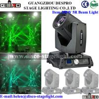 Nightclub KTV Zoom Moving Head Beam Stage Light Philip Lamp 16 / 20 Channels Manufactures