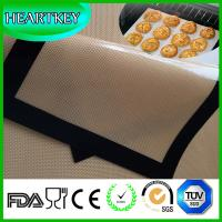 China Healthy Kitchen Tools Food Grade Non-stick Oven Liner Silicone Baking Mat on sale