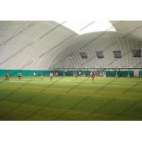 Temporary White Inflatable Event Tent For Putdoor Football Sport Playground Manufactures