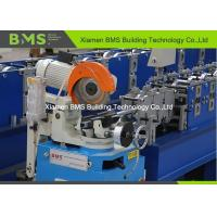 Quality Embossing Steel Square Pipe Metal Stud And Track Roll Forming Machine 380V / 50Hz for sale