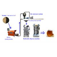 High oil output automatic hydraulic oil making machine for cooking oil Manufactures